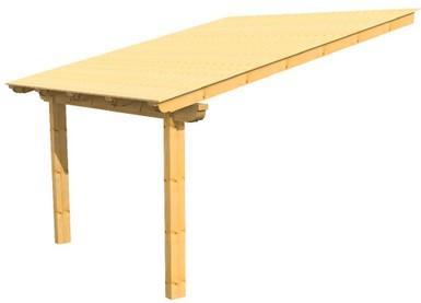 VENDITA TETTOIE - Strutture e coperture in legno.