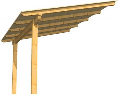 Vendita tettoie strutture e coperture in legno - Tettoie in legno per esterno ...